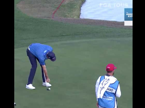 Mark Hubbard Just Pulled One Of The Most Preposterous Moves You'll Ever See On A Golf Course