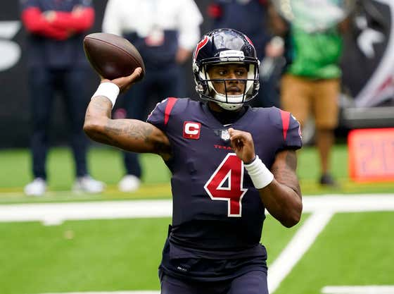 Mike Florio Says There Is a 94.9% Chance That Deshaun Watson Gets Traded Before Next Week's Deadline