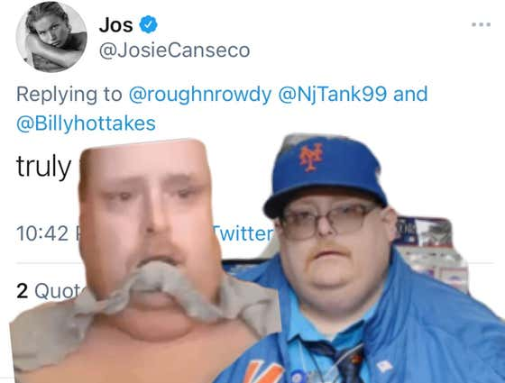 Josie Canseco Has Responded To Dating Frank The Tank