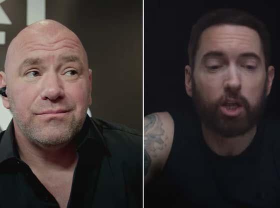 Dana White Stars In Eminem's New UFC-Inspired Music Video (Yep, You Read That Correctly)