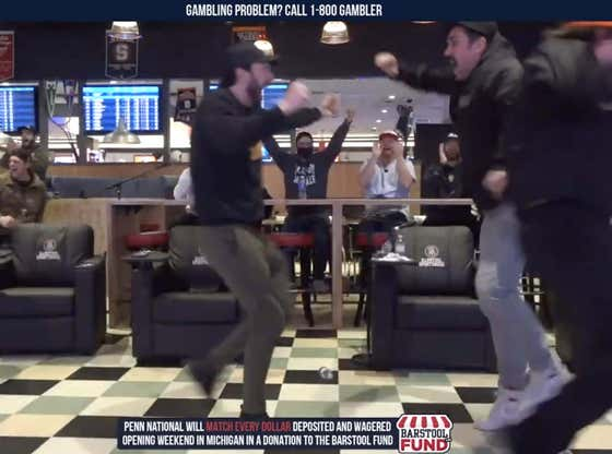 Full Replay: We're Live at Barstool Sportsbook in Greektown Casino for the UFC 257 Main Event