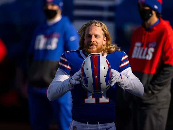 Cole Beasley, Confirmed Tough Guy: Broke His Fibula In Week 16 And Decided To Keep Playing Because 'You Take A Few Meds And Suck It Up'