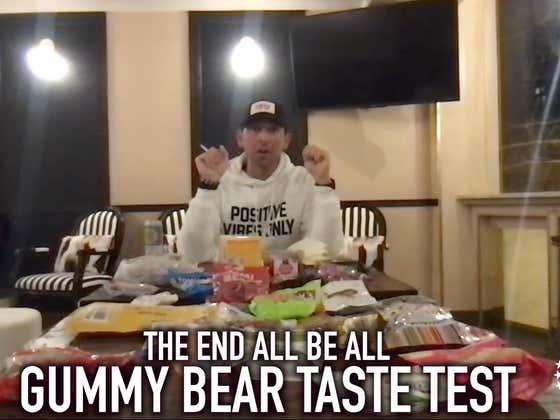 The End All Be All Gummy Bear Taste Test