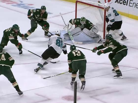 Brent Burns Is Simply Too Much Man For Even The Entire State Of Minnesota To Handle