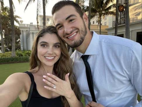 CONGRATULATIONS TO THE FUTURE MR. & MRS. MITCHELL TRUBISKY!!!
