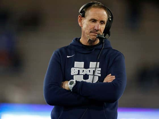 Coach Gary Anderson Turned Down The $2.7 Million Utah State Owed To Him — Said No, Thank You. To 2.7 MILLION DOLLARS — Because He Didn't Think He Earned It.