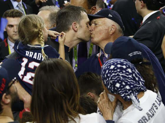 Brady's Parents Kicked Covid's Ass and Now It Sounds Like Tom Sr. is Coming for Belichick