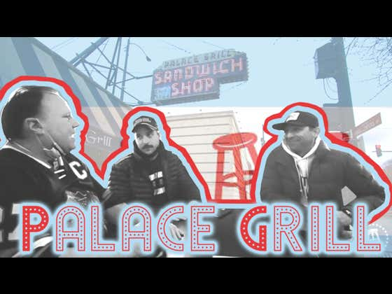 Barstool Chicago Small Business Feature - The Palace Grill With Chief and Dante