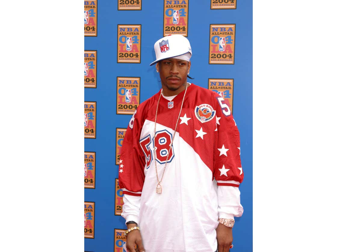 Allen Iverson - Yes, That Allen Iverson - Now Holds The National High School Football Record For Most Interceptions In A Single Game