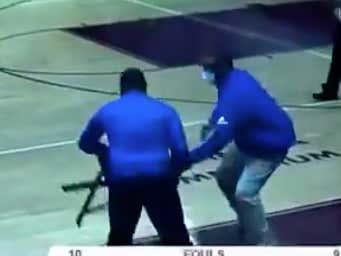 An Indiana High School Hoops Coach Got Fired For Going Full Bobby Knight And Hurling A Chair Onto The Court