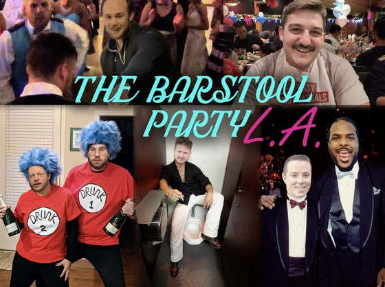 Inside The Secret Barstool Party Of The Century