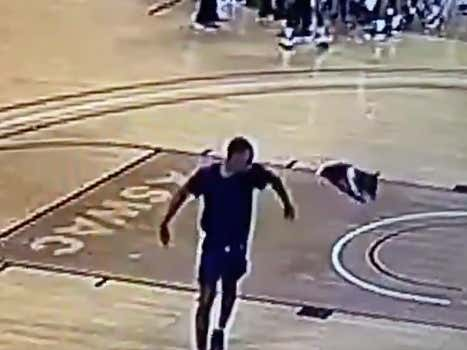 College Hoops Player Gets In A Fight With A Teammate, Tosses His Jersey On The Court And Walks Off Mid-Game