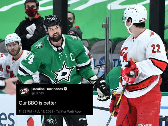 Does Regional BBQ Need Enforcers? Because The Carolina Hurricanes Are About To Start A War With Texas
