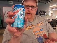 Tank's Taste Test Mountain Dew Frostbite