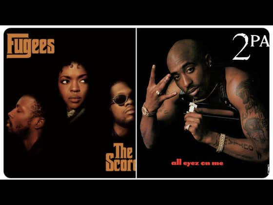 """Twenty Five Years Ago Today 2pac Released """"All Eyez On Me"""" and The Fugees Released """"The Score"""""""