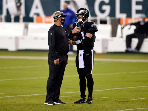 Carson Wentz And Doug Pederson Reportedly Didn't Speak Up To 10 WEEKS During The Season...HOW?!?!?!