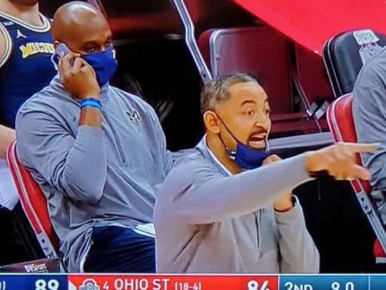Power Move - Taking A Phone Call On The Bench As You Beat Your Rival In A Top-5 Matchup