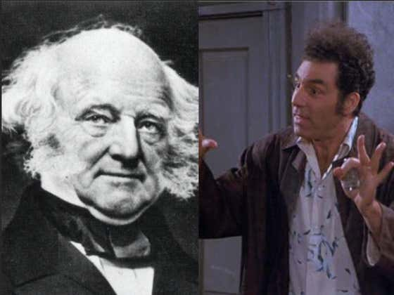 What You Didn't Learn: Martin Van Buren Edition