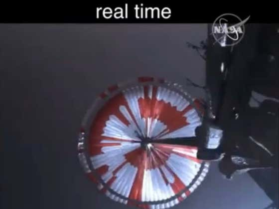 Video: Official Real-Time Footage Of The Mars Landing Is Here