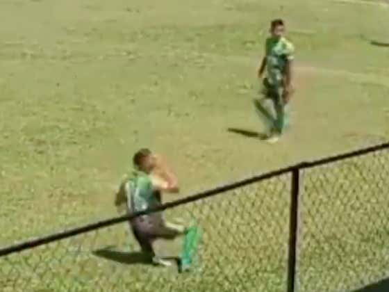 Soccer Player Is Facing Punishment For Faking An Injury After Hitting Himself With A Rock During The Game