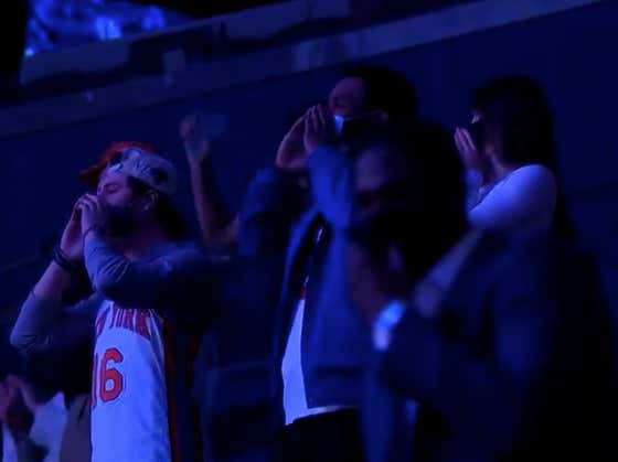 Hearing The Madison Square Garden Crowd Welcome Back The Knicks Before Tonight's Game Was So Fucking Awesome