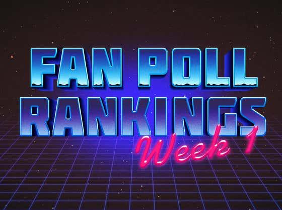 You Decide The Dozen Rankings: Week 1 Fan Poll Voting Now Open