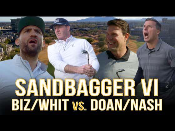 Shane Doan + Tyson Nash VS. Ryan Whitney + Paul Bissonnette - Sandbagger Invitational VI