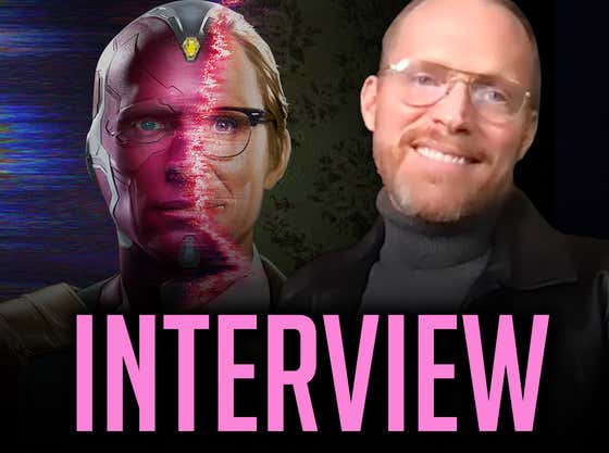 Secret WandaVision Cameo? (Interview With Paul Bettany)