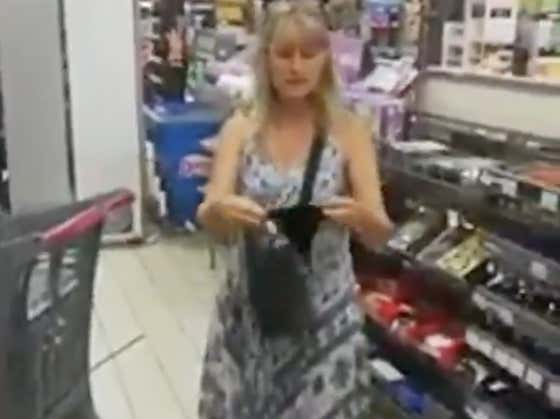 A Store Refused to Serve This Woman Without a Mask, So She Whipped Off Her Thong and Put It On