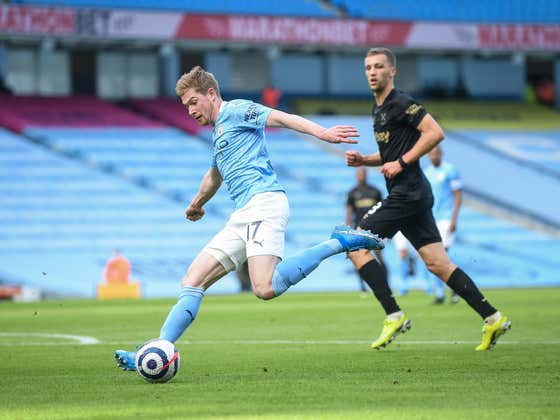Start Your Saturday With This Sexual Cross From Kevin De Bruyne
