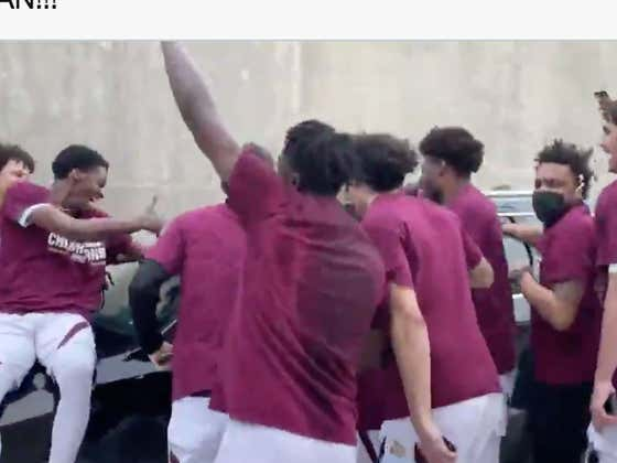This Video Of Texas State Celebrating Winning The Sun Belt With Its Interim Coach (Who Wasn't Allowed To Be There) Is Fucking Awesome