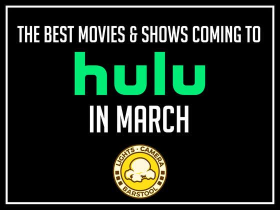 The Best Movies Coming And Going From Hulu This Month