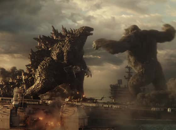 The Insane Godzilla King Kong Aircraft Carrier Fight Scene Is Reportedly EIGHTEEN Minutes Long