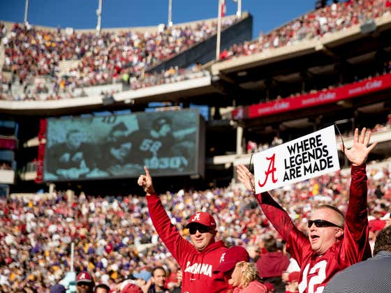 Alabama's AD Says We're Going to Have Full Football Stadiums This Fall and I Am Horny