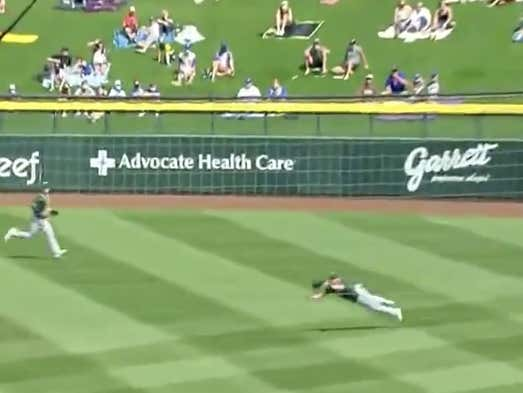 Skye Bolt May Have The Best Name In Baseball And Also Made The Catch Of The Day Yesterday