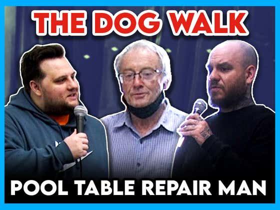 Eddie Interviews Pool Table Repair Man: Why Is The Chalk Blue?