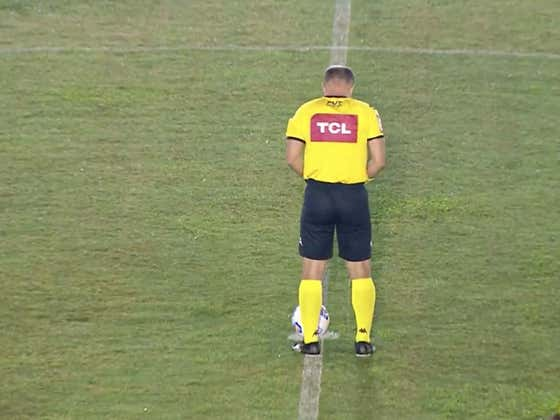 Nothing But Respect To This Soccer Ref Who Pissed His Pants Before A Game In Brazil