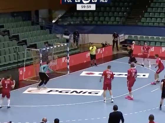 This. Is. March: Netherlands Handball Scores A Ridiculous Buzzer Beater To Take Down Poland