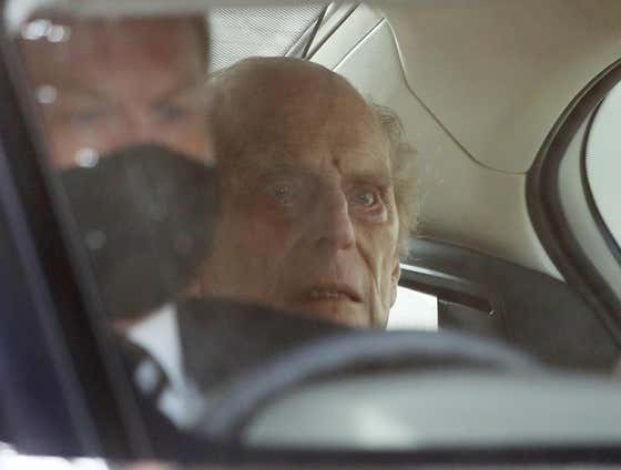 Built Different: 99-Year-Old Prince Philip Leaves The Hospital Looking Like A Straight Up Dead Guy