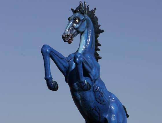 What Is Going On With Blucifer the Satanic Horse at the Denver Airport?