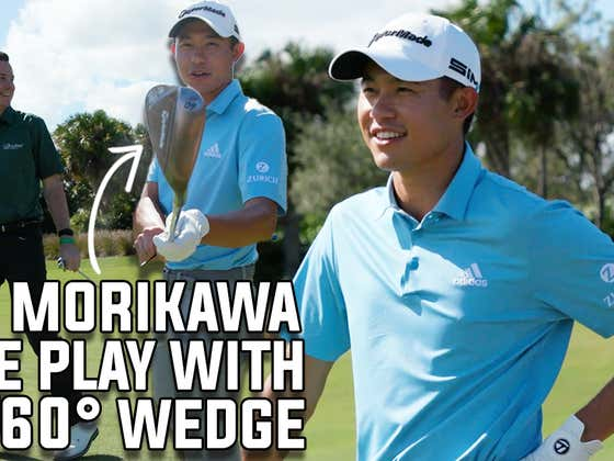 Collin Morikawa vs. Fore Play - One Club Challenge, 60° wedge