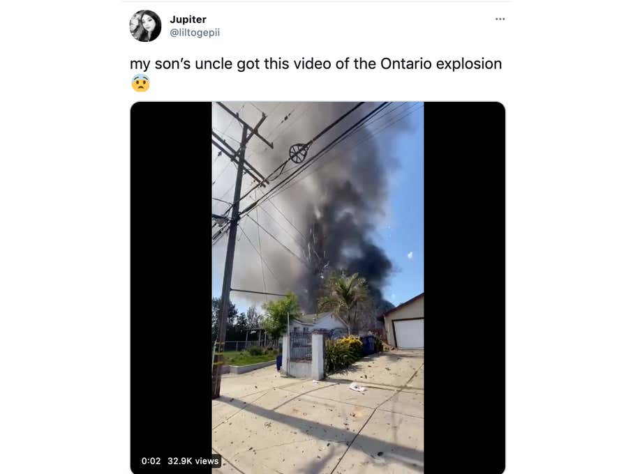 Terrifying Videos From Ontario, CA As Suburban Home's Commercial-Grade Fireworks Cache Explodes