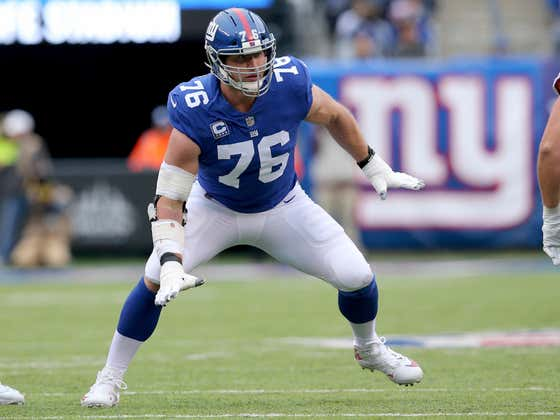 Nate Solder Restructured His Massive Deal To Return To The Giants And Open Up A Bunch Of Cap Space (And Ensure He'd Have A Job This Season)