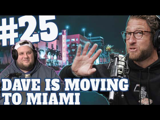 The Dave Portnoy Show with Eddie & Co. - Episode 25: I Am Moving To Miami