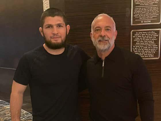 "Khabib Shares Photo With Former UFC CEO Lorenzo Fertitta On Twitter, Says: ""@DanaWhite Send Me Location"""