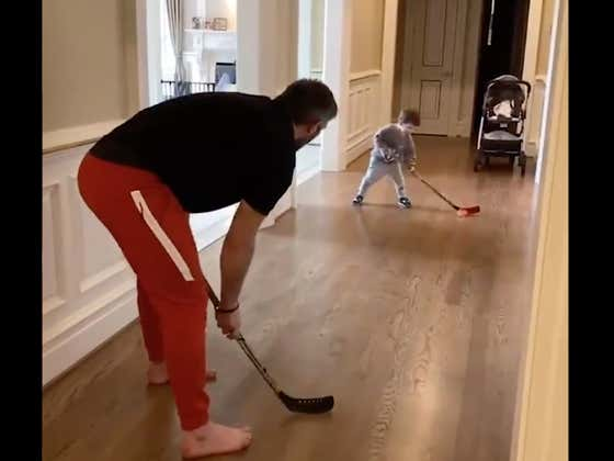 Ovi Jr Already Has One Of The Best One Timers In All Of Hockey