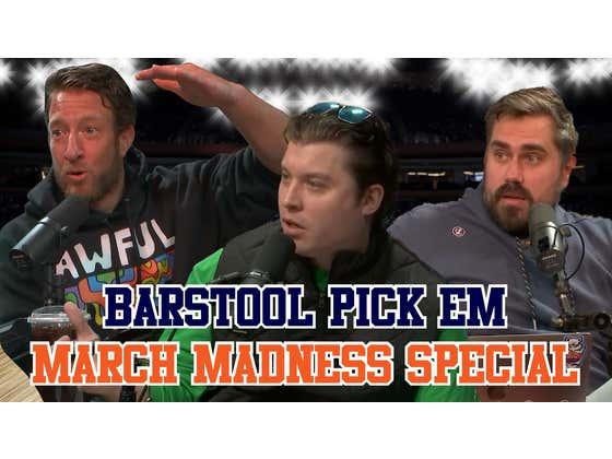 Barstool Pick Em 2021 March Madness Special