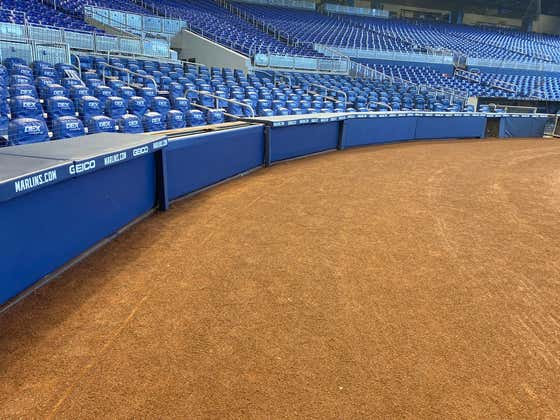 Marlins Park No Longer Has Its Fish Tank Backstop, Officially Making It the Worst Stadium in Sports