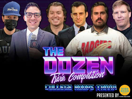 Doug Gottlieb Takes On Rico Bosco In Heated Rivalry (The Dozen: College Hoops Edition pres. by High Noon)