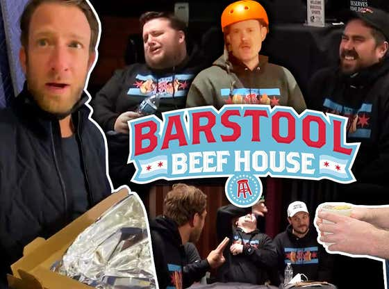 Barstool Beef House Volume 16